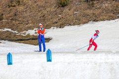 2018 mars 13th Peyongchang Paralympic lekar 2018 i södra Kore Royaltyfri Fotografi