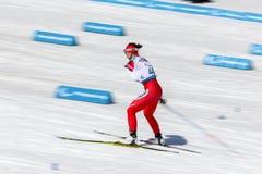 2018 mars 13th Peyongchang Paralympic lekar 2018 i södra Kore Fotografering för Bildbyråer