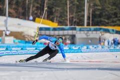 2018 mars 13th Peyongchang Paralympic lekar 2018 i södra Kore Royaltyfria Foton