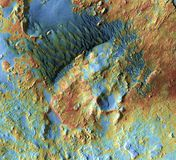 Mars Topography Royalty Free Stock Photography