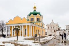 6 MARS 2016 Turister i den Ryazan Kreml Royaltyfria Foton