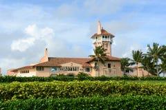 Mars-un-Lago sur l'île de Palm Beach, Palm Beach, la Floride Photographie stock libre de droits
