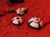 Mars-Unterseite Stockbild