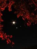 Mars, Venus, lune photo libre de droits
