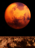 Mars View Royalty Free Stock Images
