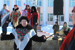 古老俄国国庆节- 免版税库存图片