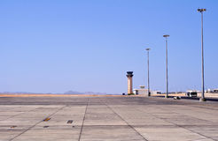 Marsa Alam airport, Egypt. Royalty Free Stock Photo