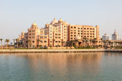Marsa Malaz Kempinski hotel in Doha, Qatar Royalty Free Stock Photography