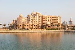 Marsa Malaz Kempinski hotel in Doha, Qatar Royalty Free Stock Photography