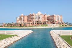 Marsa Malaz Kempinski hotel in Doha, Qatar Stock Photography