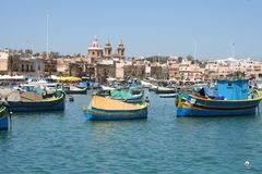 Marsa Shlok, Malta Royalty Free Stock Images