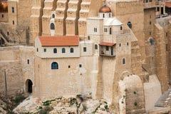 Marsaba Kloster stockfotografie