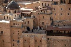 Marsaba monastery Stock Images
