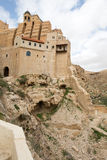 Marsaba monastery Royalty Free Stock Photo
