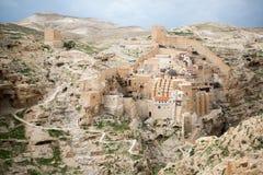 Marsaba monastery Royalty Free Stock Photography