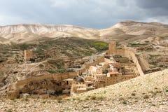 Marsaba monastery Royalty Free Stock Photo