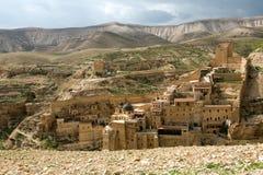 Marsaba monastery Royalty Free Stock Images