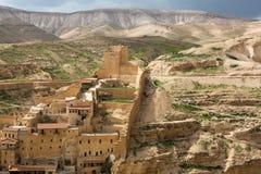 Marsaba monastery Royalty Free Stock Image
