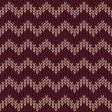 Marsala chevron pattern Stock Photography
