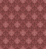 Marsala color Fleur De Lis seamless background. Stock Photo