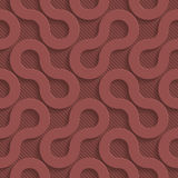 Marsala color perforated paper Stock Images