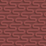 Marsala color perforated paper. Royalty Free Stock Images