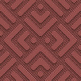 Marsala color perforated paper Royalty Free Stock Image