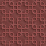 Marsala color perforated paper Royalty Free Stock Photography