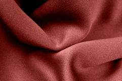 Marsala color satin fabric Royalty Free Stock Photo
