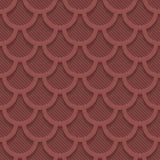 Marsala kolor dziurkujący papier Fotografia Stock