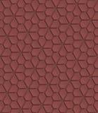 Marsala kolor dziurkujący papier Obrazy Stock