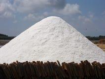 Marsala - salt berg Royaltyfri Fotografi
