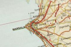 marsala Wyspa Sicily, Włochy Zdjęcia Royalty Free