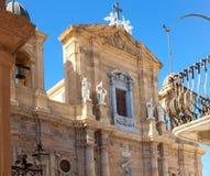 Marsaladomkyrka, Sicilien, Italien Arkivfoton