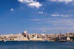 Marsamxett Harbour, Valletta, Malta Royalty Free Stock Photo