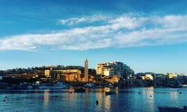 Marsascala, Malta stock foto's