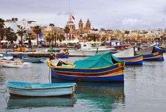 Marsaxlok. Malta Royalty Free Stock Image