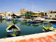 Marsaxlokk Royalty Free Stock Photography
