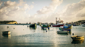 Marsaxlokk Bay Stock Photos