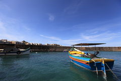 Marsaxlokk Fishing Village, Malta Stock Photos