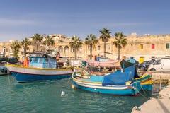Marsaxlokk Harbour Stock Photos