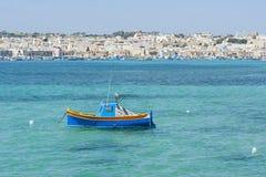 Marsaxlokk Malta Royaltyfria Foton