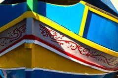 Marsaxlokk stock image