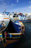 Marsaxlokk is a traditional fishing village located in the south-eastern part of Malta,. Stock Images