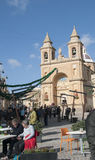 Marsaxlokk is a traditional fishing village located in the south-eastern part of Malta,. Royalty Free Stock Photos