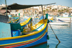 Marsaxlokk village, Malta Royalty Free Stock Images