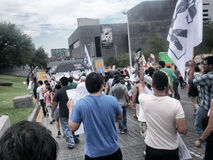 Marsch för protest 132 Arkivfoton