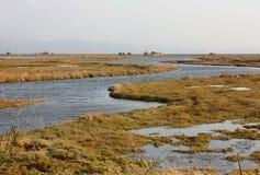 Marsch Field, Lesvos Island, Greece, Europe Royalty Free Stock Photography
