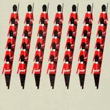 marschera för guardsmen royaltyfri illustrationer