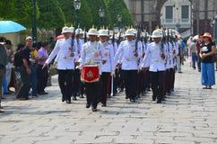 Marschera soldater Royaltyfri Foto